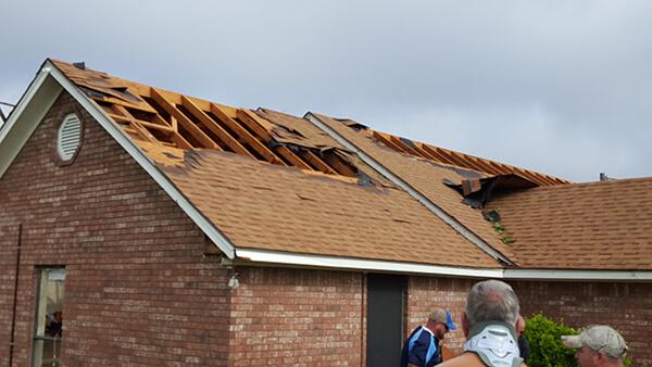 hail damaged roof repair