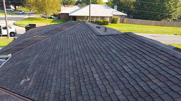 pottsboro tx asphalt roof replacement