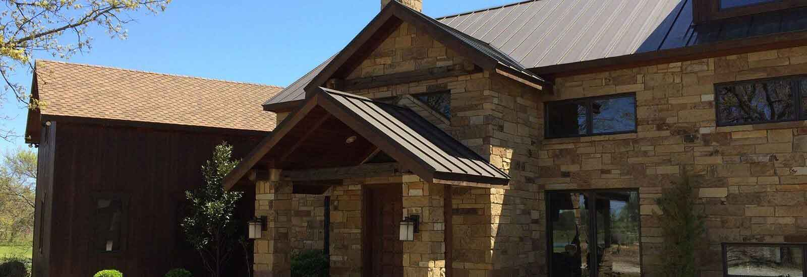 roofing system for home